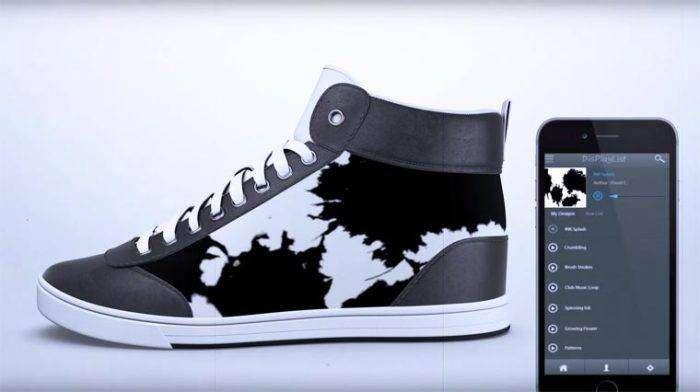 «ShiftWear» - оригинальные кроссовки с меняющимся дизайном.