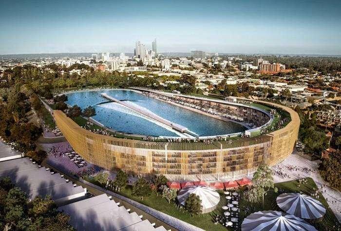Грандиозная трансформация: футбольный стадион перестроят в волновой бассейн для серфинга