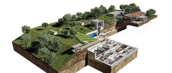 На случай ядерной войны: как выглядит бункер для миллиардера в Чехии