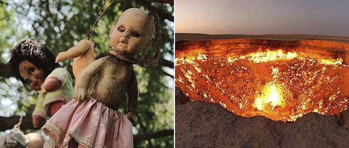 Ферма тел, ядерный купол и лес самоубийц: топ-10 самых жутких мест на планете