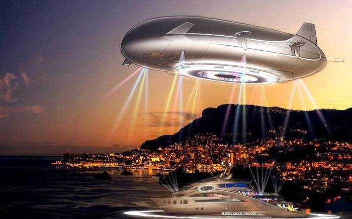 Роскошное воздушное судно будущего Halo