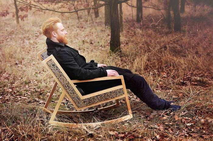 Уникальность этого кресла в лёгкости и простоте форм
