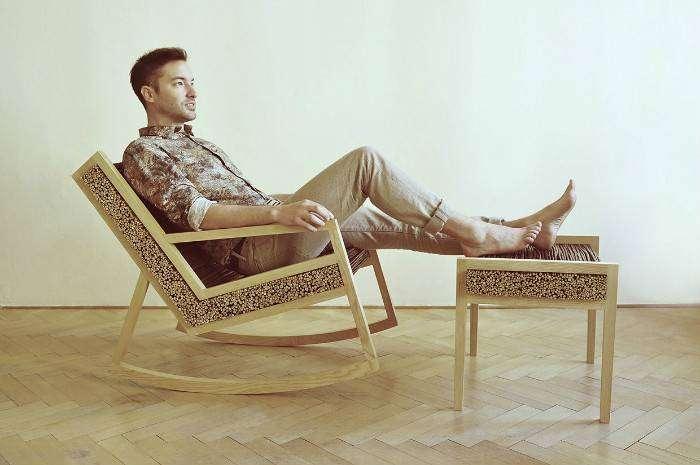 Кресло-качалка студии Томаса Вацека (Tomas Vacek)