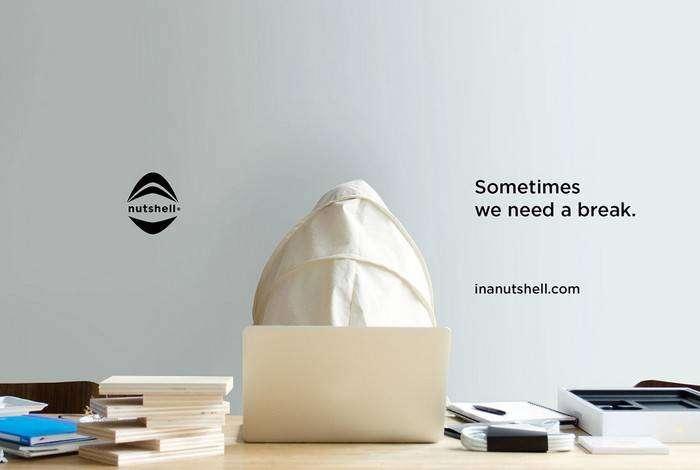 The Nutshell – персональная палатка-капюшон для отдыха в одиночестве