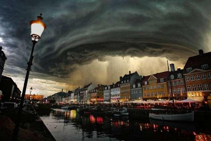 Местами дожди. Копенгаген