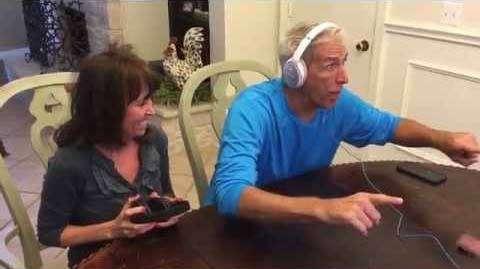 Родители узнали, что у них будет внук (видео)