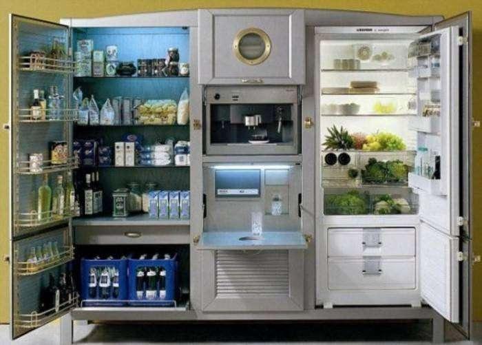 Самый дорогой холодильник.