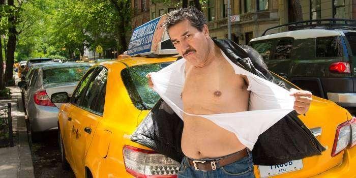 Секси таксисты из Чикаго и Нью-Йорка.