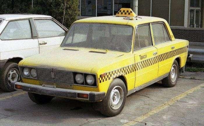 Суровое русское такси.