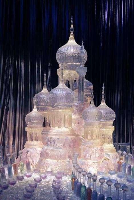 Восхитительный ледовый дворец.