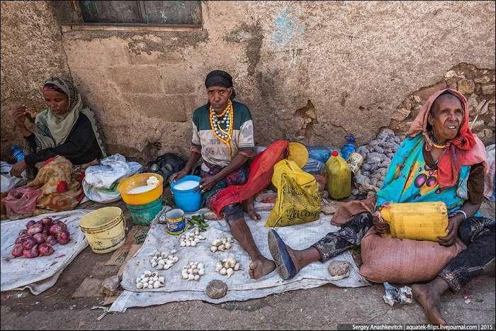 Рынок в Хараре
