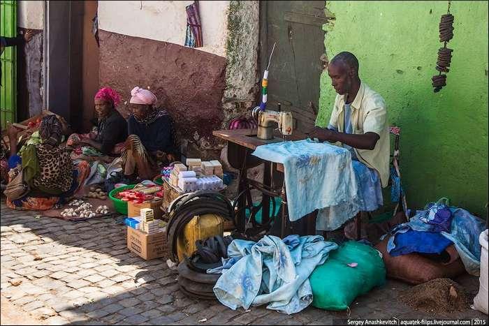 Мужчины и женщины в Африке