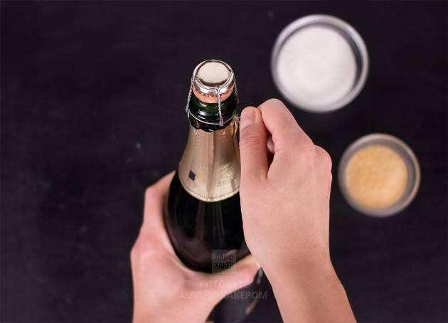 Коктейли с шампанским. Желе из шампанского: открываем бутылку