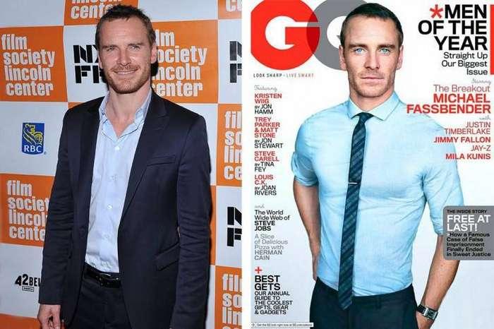11 знаменитых мужчин до и после фотошопа