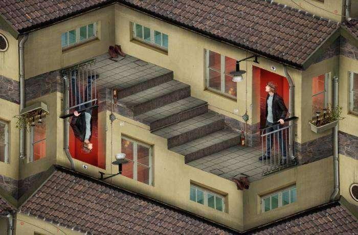 Шикарные оптические иллюзии (10 фото)