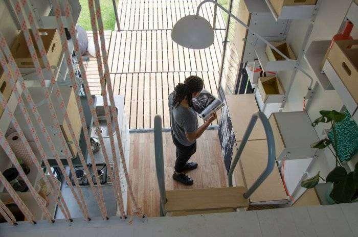 Крошечный мобильный нано-дом (6 фото)