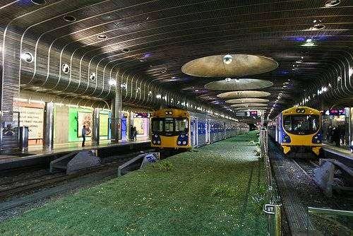 Необычное метро (4 фото)