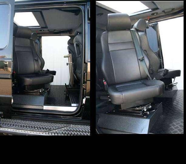 Mercedes Benz G XXL автомобиль соправождения VIP-персон (10 фото)