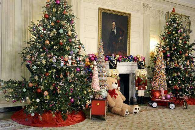 Рождество в Белом доме (14 фото)