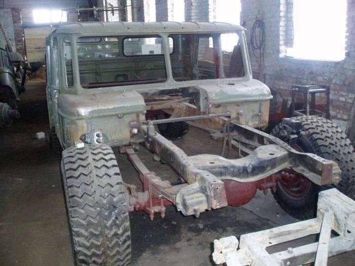 Самодельный Hummer H1 на базе ГАЗ-66 (10 фото)