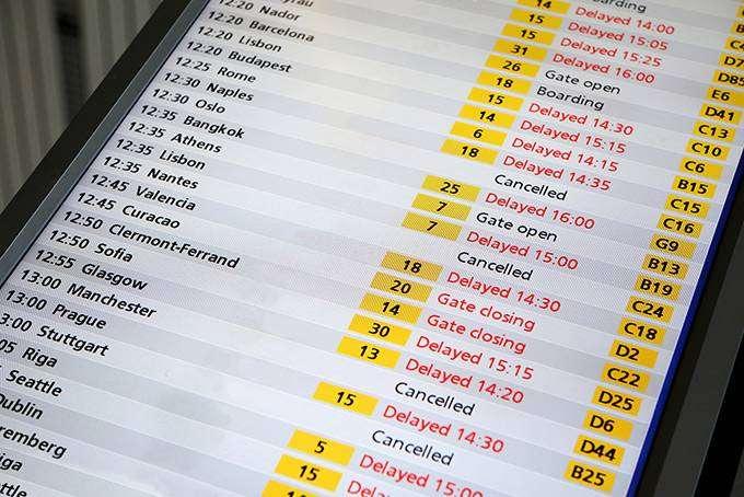Что делать, если ваш рейс отменили или задержали (4 фото)