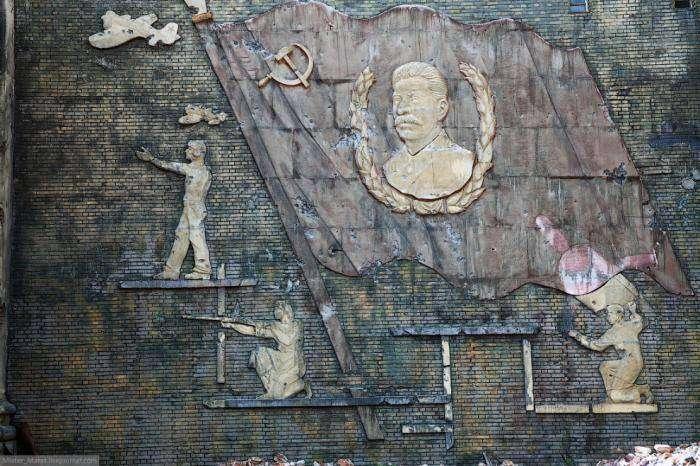 Декорации к фильму «Сталинград» (14 фото)