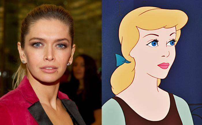 Российские знаменитости, похожие на диснеевских принцесс (10 фото)