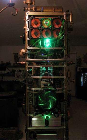 Суперкомпьютер (27 фото)