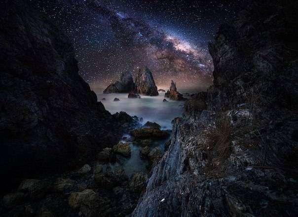10 умопомрачительных фотографий звездного неба
