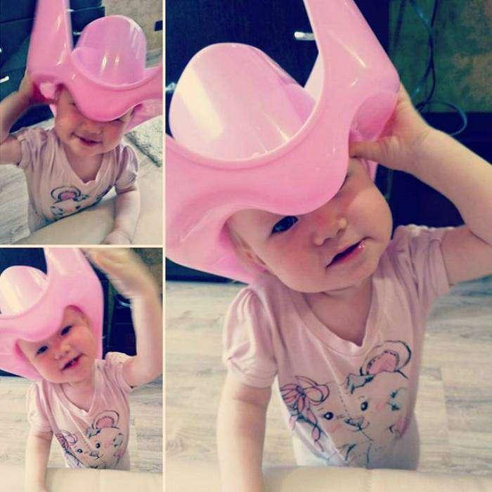 «И как переубедить ребенка, что это не шляпа, а горшок!?»