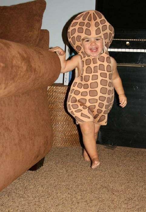Ну, кто в детстве не мечтал стать арахисом на детском празднике!?