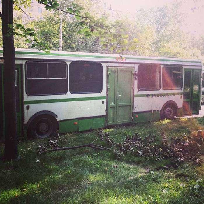 Комфортабельный троллейбус.