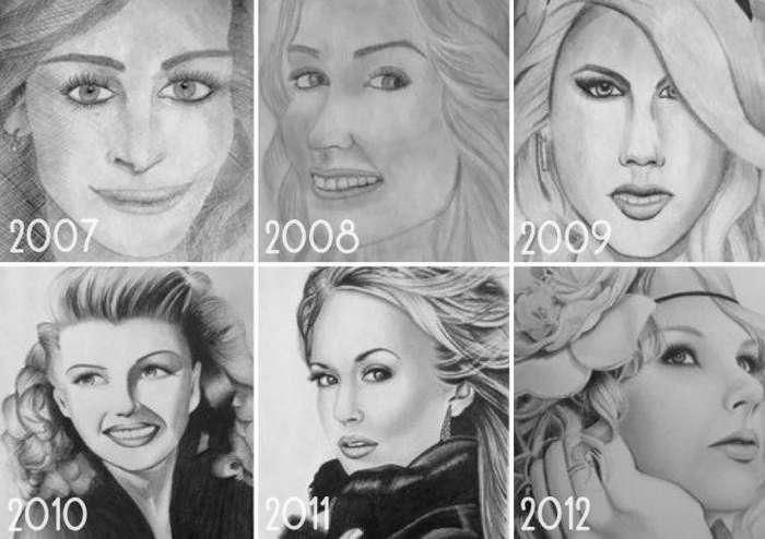 Кое-кто не терял время даром до и после, рисунок