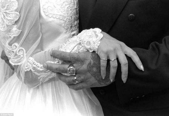 Фото свадеб за решеткой