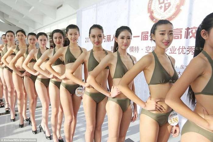 Как в Китае проходит набор на должности стюардесс