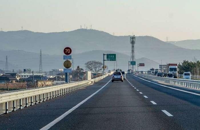Дороги Беленький, страности, япония