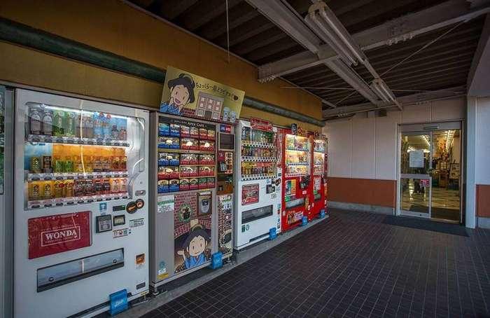 Торговые автоматы Беленький, страности, япония