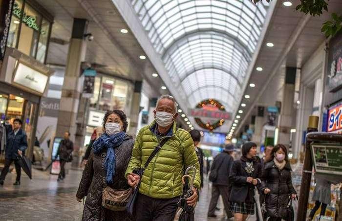 Люди в масках Беленький, страности, япония