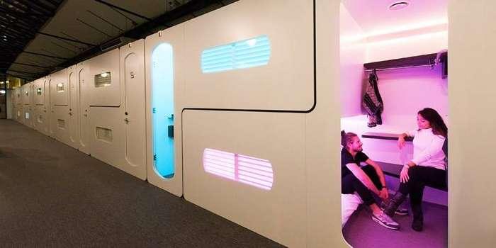 CityHub — отель будущего в Амстердаме