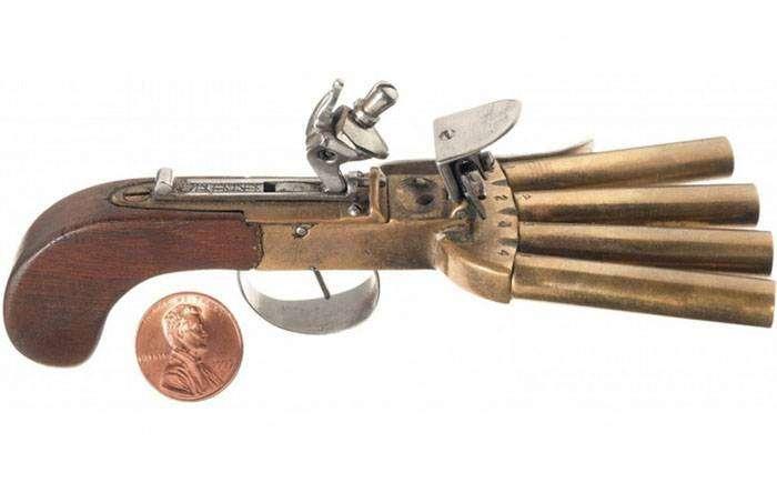 Залповый пистолет «Утиная лапка»