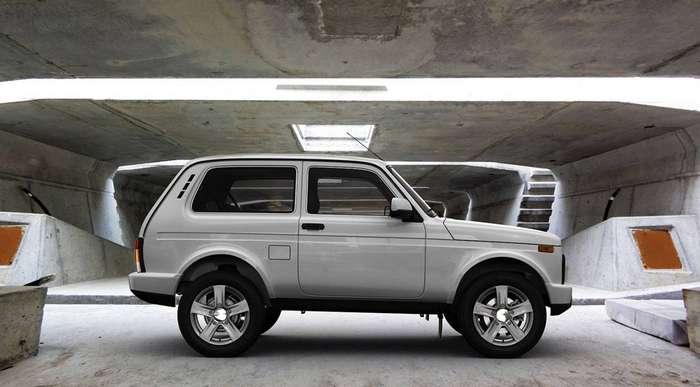 Фото 1 - Обновленную Lada 4x4 Urban начали продавать в Европе