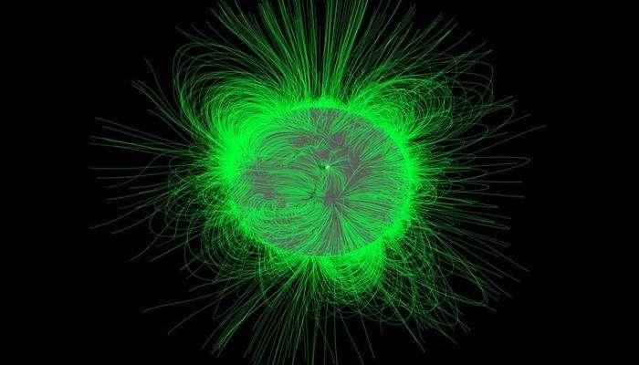 Солнечные полюса и космические исследования.