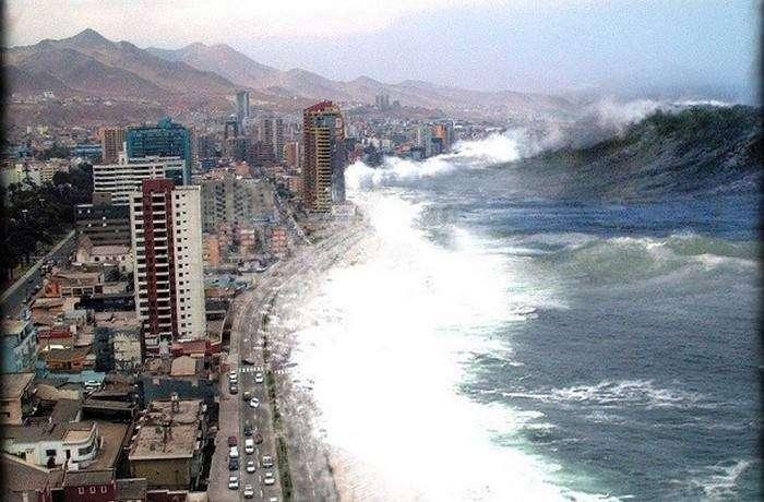 По Земле пройдет огромный цунами.