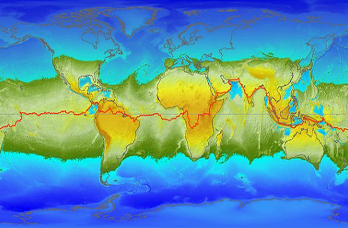 Океаны будут перераспределены.