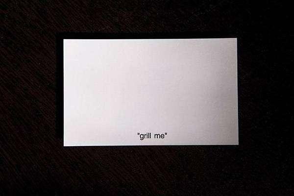 Визитная карточка компании по продаже грилей