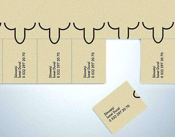 Визитная карточка специалиста по обрезанию.
