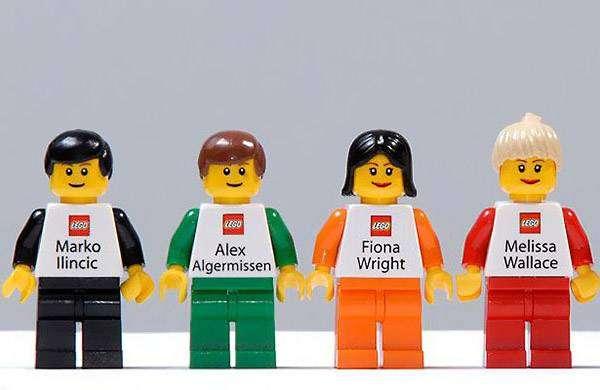 Визитная карточка персонального Lego-агента.