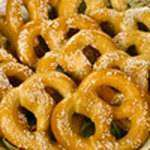 Соленые печеньки-бретцели