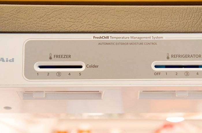 Выключаем холодильник