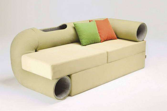 Диван Cat Tunnel Sofa, дизайн – Сеунгжи Мун